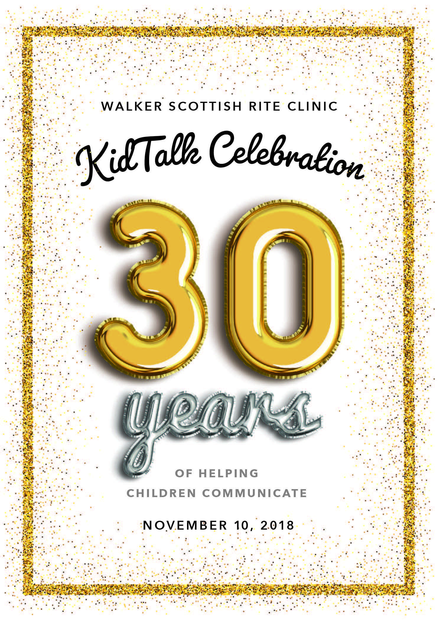 KidTalk Celebration - 30 Years