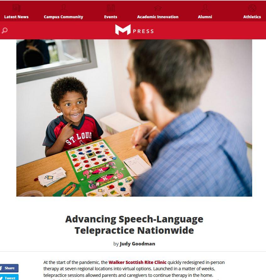 Advancing Speech-Language Telepractice Nationwide